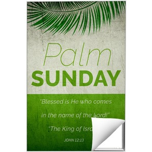 Color Block Palm Sunday 24 x 36 Quick Change Art