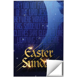 Easter Sunday Blue Tomb 24 x 36 Quick Change Art