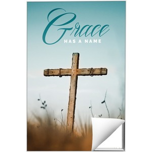 Grace Has A Name M Wall Art