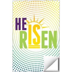 He Is Risen Dots Wall Art
