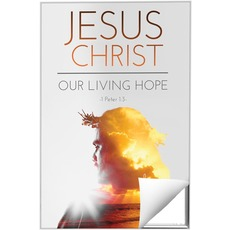 Jesus Christ Living Hope Wall Art