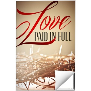 Love Paid In Full Wall Art