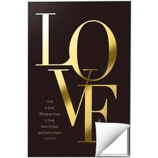 Gold Letters Love Wall Art