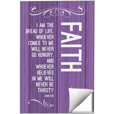 Painted Wood Faith Wall Art