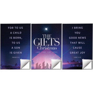 The Gifts of Christmas Advent Wall Art