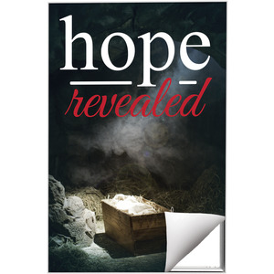 Hope Revealed Manger 24 x 36 Quick Change Art
