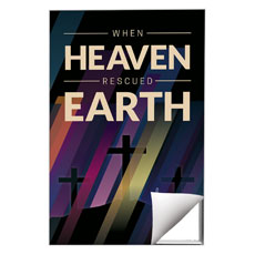 Heaven Rescued Earth Wall Art