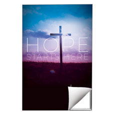 Hope Starts Here Wall Art