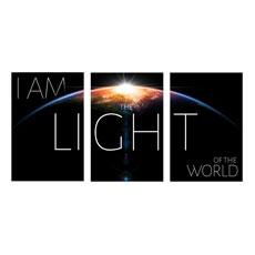 I Am The Light Wall Art