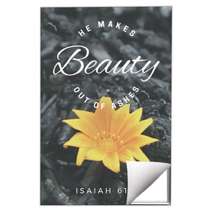 Beauty Out of Ashes 24 x 36 Quick Change Art