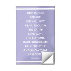 Shimmer Psalm 46 Wall Art