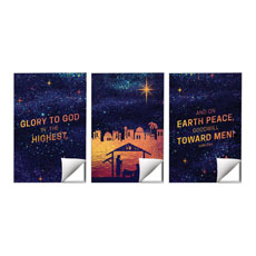 Glorious Night Triptych