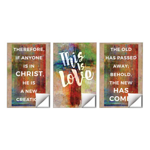 This Is Love 2 Cor 5:17 Wall Art
