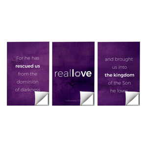 Real Love Crown Triptych 24 x 36 Quick Change Art