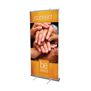 "Be the Church Connect 4' x 6'7"" Vinyl Banner"
