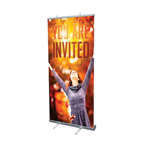 "Youre Invited Fall 4' x 6'7"" Vinyl Banner"