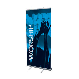 "Worship Together Pair L 4' x 6'7"" Vinyl Banner"
