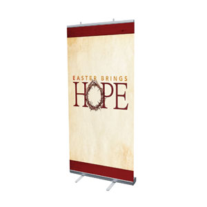 "Hope Crown 4' x 6'7"" Vinyl Banner"