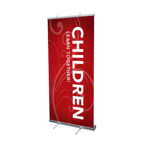 "Flourish Children 4' x 6'7"" Vinyl Banner"