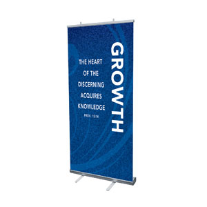 "Flourish Growth 4' x 6'7"" Vinyl Banner"