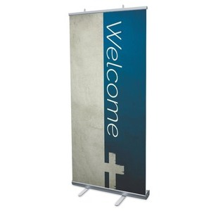 Color Block Welcome Banners
