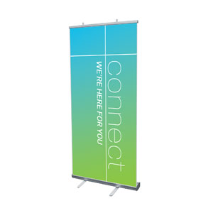 "Color Wash Connect 4' x 6'7"" Vinyl Banner"