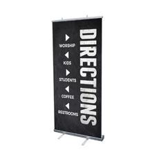Slate Directional Banner