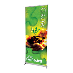 Get Connected Grow Banners