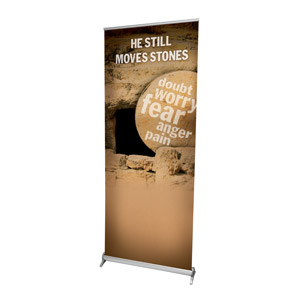 Still Moves Stones Banners