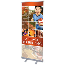 Belong Fall Banner