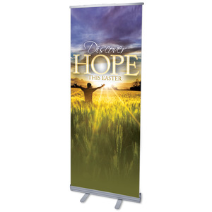 "Easter Hope Field 2'7"" x 6'7""  Vinyl Banner"