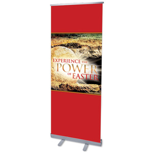 "Experience Easter Power 2'7"" x 6'7""  Vinyl Banner"