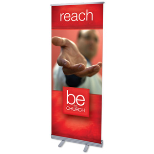 "Be The Church Reach 2'7"" x 6'7""  Vinyl Banner"