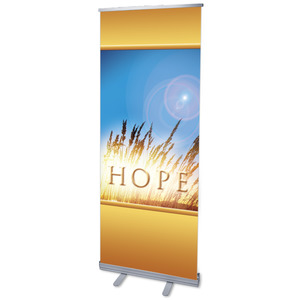 "Hope for Tomorrow 2'7"" x 6'7""  Vinyl Banner"