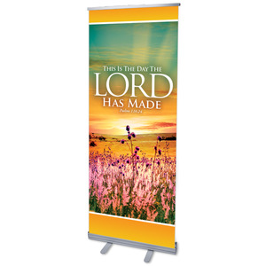 "This is the Day 2'7"" x 6'7""  Vinyl Banner"