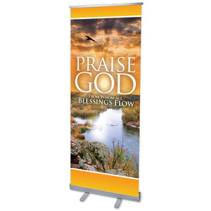 Blessings Flow Banners