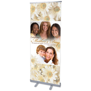 Mother's Day Faces Banners