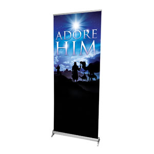 Adore Him Banners