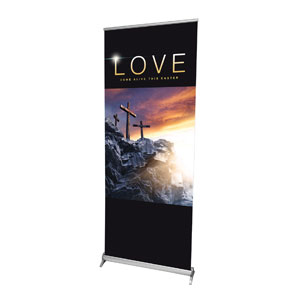 "The Thorn Love 2'7"" x 6'7""  Vinyl Banner"