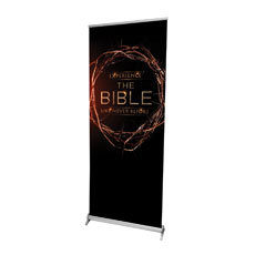 The Bible Crown Banner