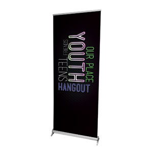 "Words Youth 2'7"" x 6'7""  Vinyl Banner"