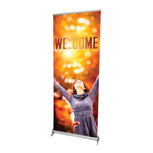 "Youre Invited Fall 2'7"" x 6'7""  Vinyl Banner"
