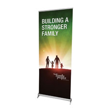 Family Project Indoor Rollup Banner