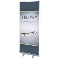 Believe Now Live the Story Banner