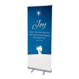 "Advent Joy 2'7"" x 6'7""  Vinyl Banner"