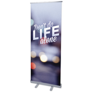 Life Alone M Banners