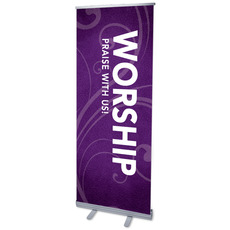 Flourish Worship Banner