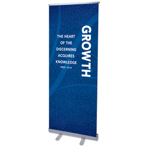 "Flourish Growth 2'7"" x 6'7""  Vinyl Banner"