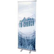 Season Welcome Snow Banner