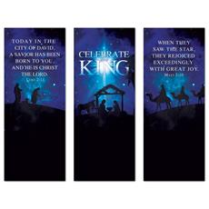 Celebrate the King Triptych